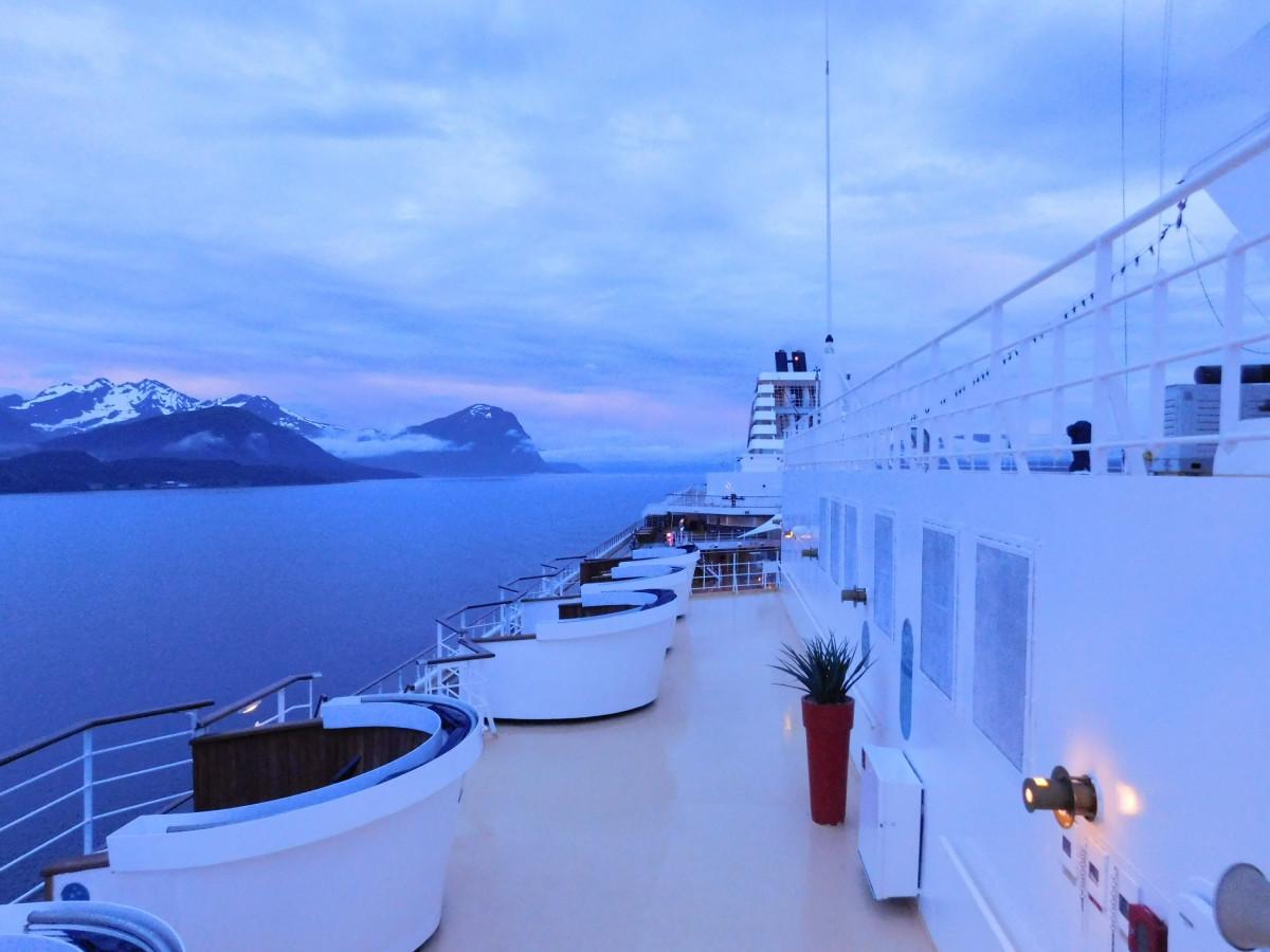 Einfahrt in den Geiranger-Fjord - Magisches Licht :)