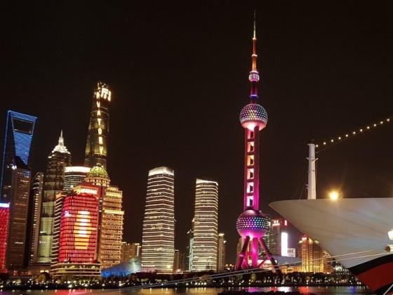 Shanghai: Blick auf Pudong
