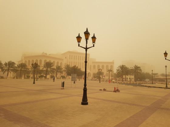 Sandsturm in Bahrain