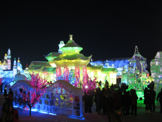 Ice- and Snowfestival Harbin