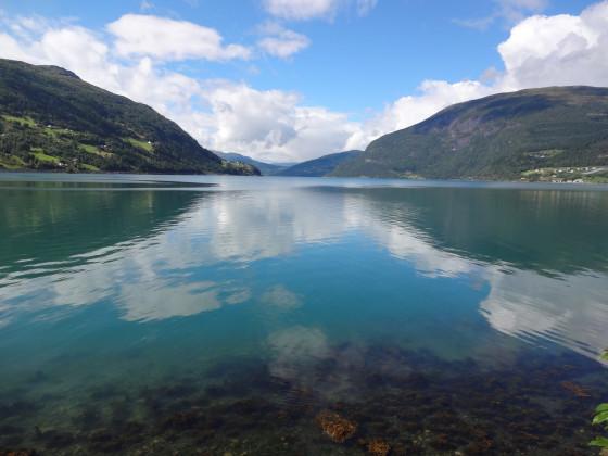 Unterwegs in Norwegen - Olden - Faleidfjord