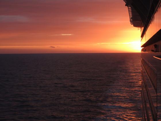 Sonnenuntergang, Allure of the Seas