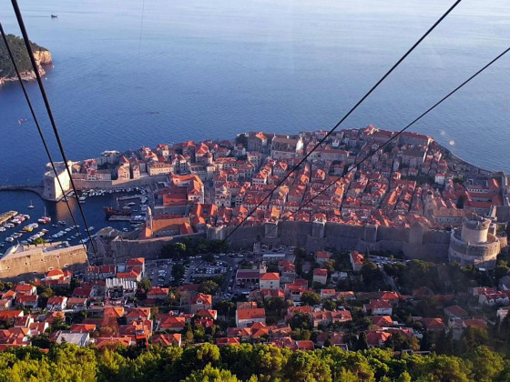 Seilbahnfahrt in Dubrovnik