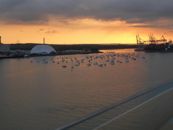 Abschied von Southampton
