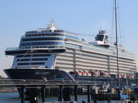 Mein Schiff 1 Kieler Hafen 30.05.2021