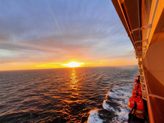 Abendstimmung auf der Mein Schiff 3