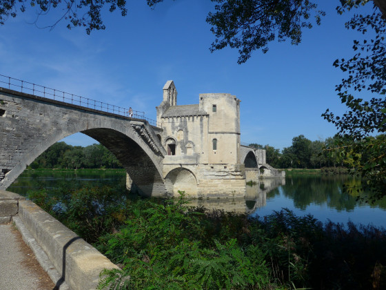 Flussfahrt Avignon