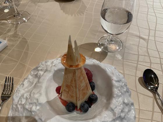 Abendessen im Restaurant Silver Note