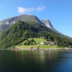 Unterwegs in Norwegen - Irgendwo im Fjord bei Alesund