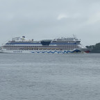 Die AidaSol ist in Kiel angekommen